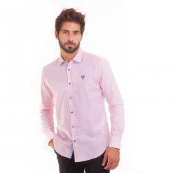 CHEMISE ML OXFORD UNI NZ