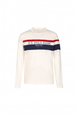 TEE SHIRT TRICOLORE STRIPE...
