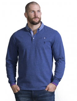 POLO MANCHES LONGUES ELEGANCE