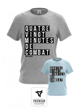 TEE SHIRT MINUTES COL ROND